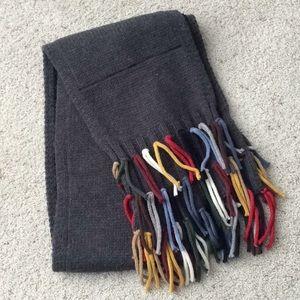 Nordstrom Chunky acrylic/wool scarf.